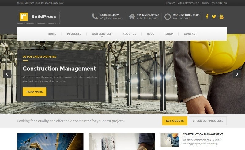 BuildPress wordpress theme CMGbaltic