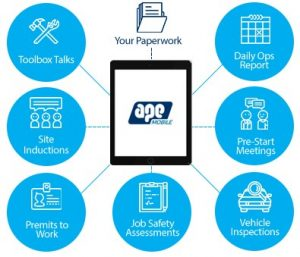 Paperless site app for Construction - APE Mobile